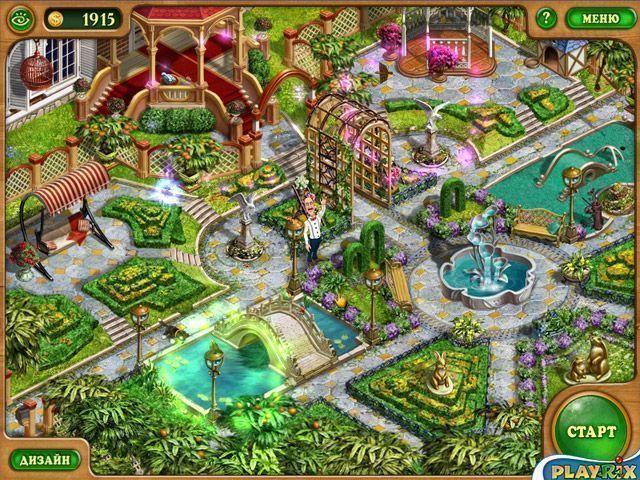 Официальная страница игры дивный сад